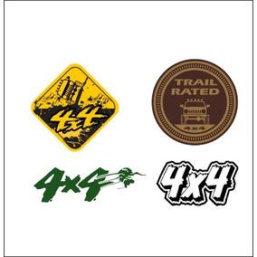 Adesivos Off Road 4x4 + Frete Grátis