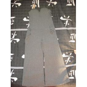 Macacão Grafite Pantalona