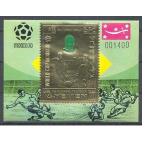 Selos - Futebol - Yemen ( Copa Do México 1970 ) - Mnh