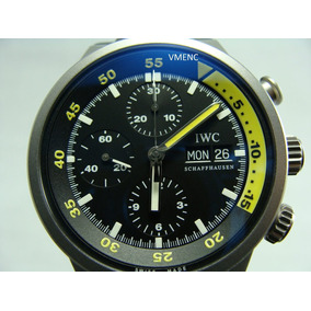 I W C Aquatimer Chronograph En Titanio Ref. 3719