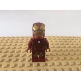 Minifigura Lego Original Marvel Super Heroes Homem De Ferro
