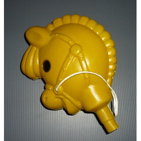 Cabeça De Pôney - Cavalinho De Pau - Brinquedo Retrô - Imp