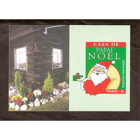 Bilhete Postal - 202 - Casa Do Papai Noel-penedo- Rj