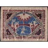 Alemania - Bielefeld 25 Mark 15 Jul 1921 Notgeld Seda