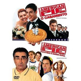 Dvd American Pie 3 E 4- O Casamento / Tocando A Maior Zona