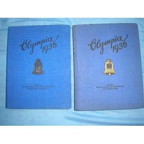 Olimpíadas De 1936 - Berlim - Em 2 Volumes Completos
