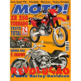 Moto! N°80 Honda Xr 250 Tornado Ducati 996 Harley Davidson