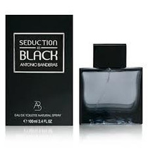 Perfume Seduction In Black Antonio Banderas 100ml Original