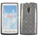 Capa Silicone Tpu Sony Ericsson X10 +peliculapronto Envio