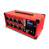Cabezal Amplificador De 8 Canales C/ Bluetooth Remoto Y Usb