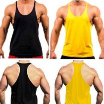 Camiseta Regata Super Cavada Academia Masculina Musculação