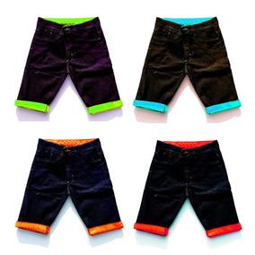 Kit 10 Bermudas Jeans Masculina Short Jeans Atacado Revenda