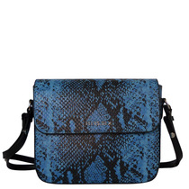 Bolsa Croco Cobra Ellus 45zw616 Azul