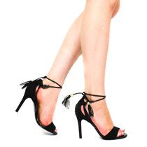 Sandália Zariff Shoes Franja Amarração 20229 | Zariff