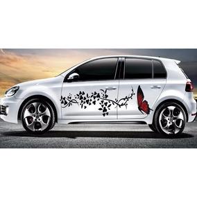 Calcomanias Chevy Jetta Spark Camionetas Mariposas Sticker!!