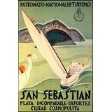 Cosmopolita São Sebastião Turismo Barco Homens Poster Repro