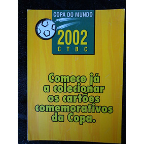 Coleção (4) Cartão Telefonico Futebol Copa Do Mundo 2002