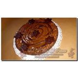 Torta De Chocolate Con Nuez Y Mousse * Apto Diabeticos * 8 P