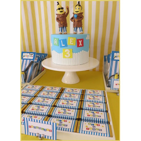Kit Imprimible Bananas En Pijamas, Candy Bar, Cumple, Invita