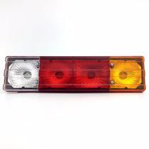 Lanterna Traseira Caminhão Mercedes Metalizada Tricolor Peça