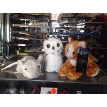 Paquete Mascotas Harry Potter Hedwig Gato Rata Hermione Ron!