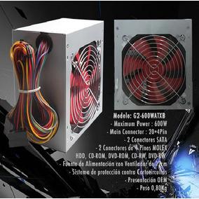 Fuente De Poder Delux Atx 550w 20+4 Pin 2 Sata Ventilador