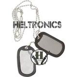 Chapas De Identificacion Militares Lisas C/ Cadena Dog Tags
