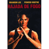 Dvd - Rajada De Fogo - Brandon Lee - Lacrado
