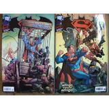 Superman & Batman Nºs 2 Ao 42 Ed. Panini