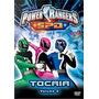 Dvd Power Rangers Dino Trovão - Trovão Branco - Vol. 3
