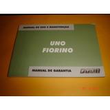 Manual De Uso E Manutenção Do Fiat Uno Fiorino 2004