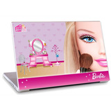 Skin Adesivo Notebook Papel Parede Desenho Barbie Skdi1662