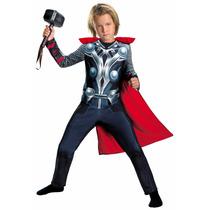 Nuevo Disfraz 2015 Avengers Thor Niño Talla Chica 4 A 6 Años