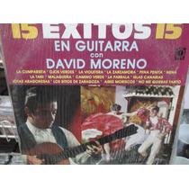 David Moreno 15 Exitos En Guitarra Lp