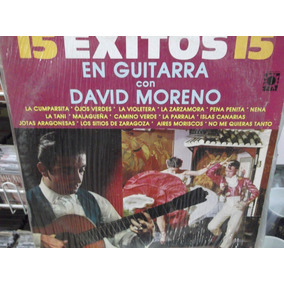 David Moreno 15 Exitos En Guitarra Lp
