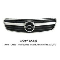 Grade Frontal Completa Gm Vectra 06/08 Preto Retrovex