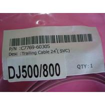 C7769-60305 Cabo Flat Plotter Hp Dsj 500/800 24 - Flat Cable