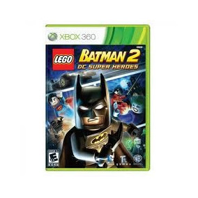 Jogo Lego Batman 2 Dc Super Heores Para Xbox 360
