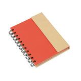 Kit X2 Cuaderno Full Argollado Magnetico Doble O Ban-rojo