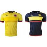 Camiseta Selecccion Colombia 2016/2017 Falcao James Bacca