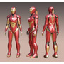 Disfraz- Armadura - Ironman Pepper Potts - Patrones - Mujer