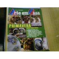 Revista Edições Manequim Arte Em Casa Nº8-a Ago89 Com Moldes