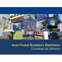 Guia Postal Brasileiro + Endereçador /cep/ruas/cidades