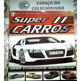 Album Figurinhas Super Carros 2 Completo Para Colar