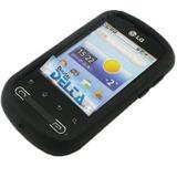 Capa Silicone Celular Lg Optimus Me P350