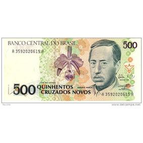 C209 500 Cruzados 1989 Fe!! Marca R$28,00!! Por 15,00