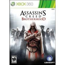Jogo Americano Lacrado Assassin`s Creed Brotherhood Xbox 360
