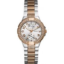 Relógio Guess Rose/prata - W15072l2 - Original