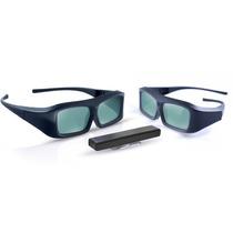 Kit 3d Philips Pta02 Ativo 2 Óculos+receptor