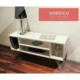 Mueble Nórdico Mesa Auxiliar O Tv Moderno Cómoda Diseño